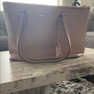 Kate Spade Pink Large Lucie Leather Tote